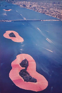 Surrounded Islands, Biscayne Bay 1980 Limited Edition Print - Javacheff   Christo