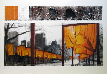 Gates (18372) Poster Limited Edition Print - Javacheff   Christo