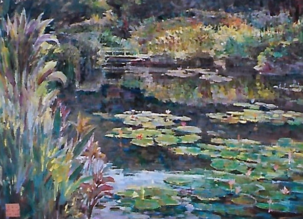 Water Lilies 1984 46x36