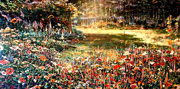 Sunlit Meadow Limited Edition Print - Lau Chun
