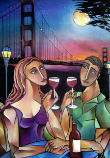 Golden Gate Romance 30x22 Limited Edition Print - Stephanie Clair