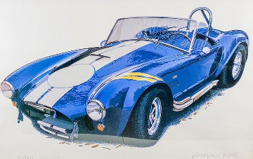 1966 427 Cobra Limited Edition Print - Harold James Cleworth