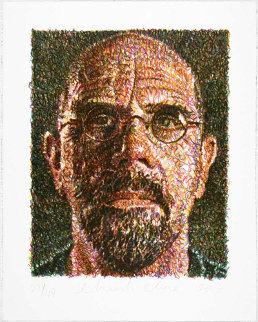 Self Portrait 2007 Limited Edition Print - Chuck Close