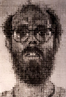 Self Portrait 1989  Limited Edition Print - Chuck Close