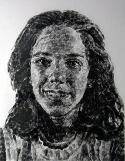 Georgia Fingerprint I 1985 Limited Edition Print - Chuck Close