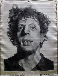 Phil (Silk Tapestry) 1991 Phil Glass 51x38 Tapestry - Chuck Close