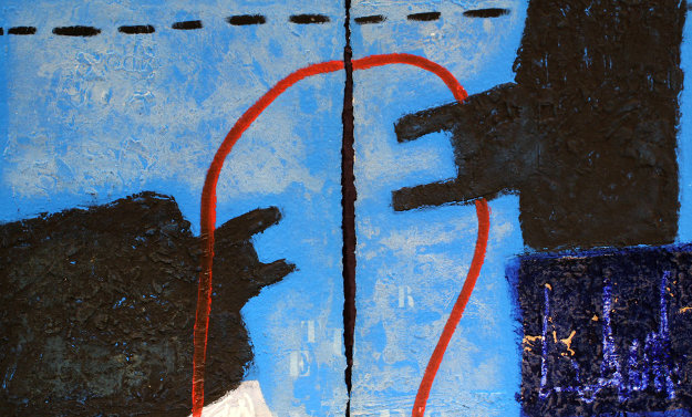 Face Minerale Diptych 1991