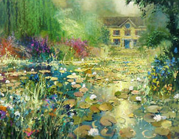 Summer's Bloom Embellished 2006 Limited Edition Print - James Coleman