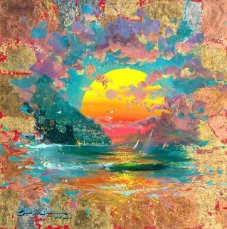 Emerald Sunset 2015 Limited Edition Print by James Coleman