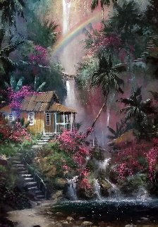 Rainbow Falls AP 2004 Embellished Limited Edition Print - James Coleman
