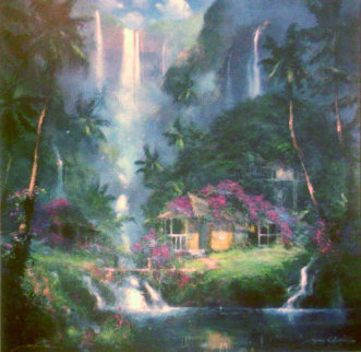 Aloha Spirit 2003 Embellished Limited Edition Print - James Coleman