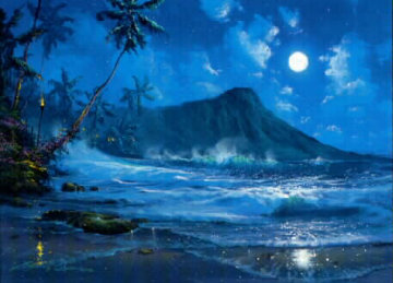 Moon Over Diamond Head 1997 Limited Edition Print - James Coleman