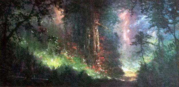 Nature S Garden 1998 23x38 By James Coleman
