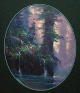 Forest Song 1995 30x28 Original Painting - James Coleman