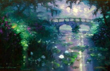 Silence of Light  Embellished 2001 Limited Edition Print - James Coleman