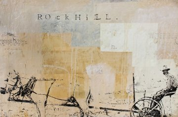 Rock Hill 1997 24x36 Original Painting - Ashley Collins