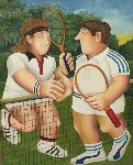 Tennis 1998 Limited Edition Print - Beryl Cook