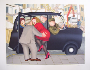 Taxi Limited Edition Print - Beryl Cook
