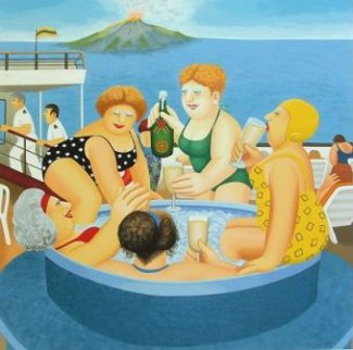 Cruising Limited Edition Print - Beryl Cook