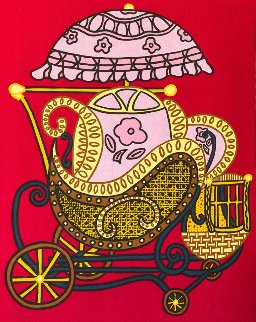 Baby Buggy 1978 Limited Edition Print - Bill Copley