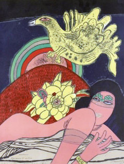 Exotisme (Exoticism) 1972 Limited Edition Print - Guillaume Corneille