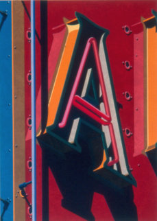 An American Alphabet  Limited Edition Print - Robert Cottingham