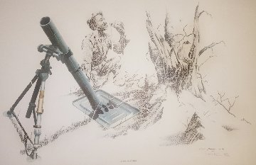 Military Art Set of 8 1981 Limited Edition Print - Craig Bone