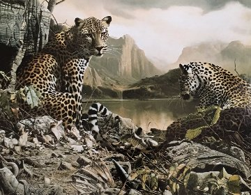 Year of the Leopard 1995 Limited Edition Print - Craig Bone