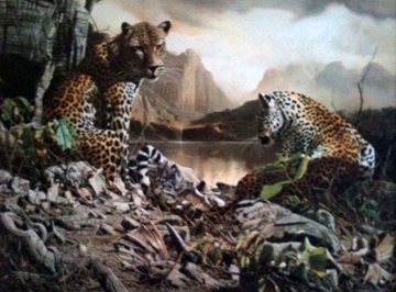 Year of the Leopard Limited Edition Print - Craig Bone