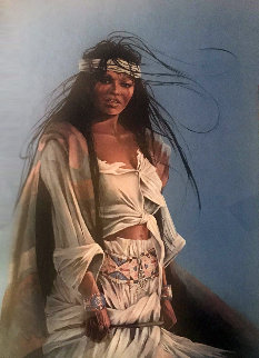 Halfbreed 2 1999 Limited Edition Print - Penni Anne Cross