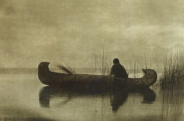 Kutenai Duck Hunter 1910 Photography - Edward S. Curtis