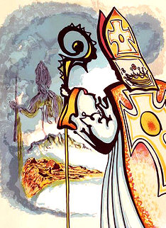 Ivanhoe Suite: King Richard: 1977 Limited Edition Print - Salvador Dali