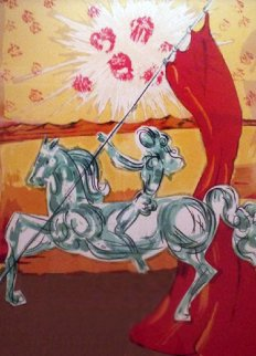 Ivanhoe Suite: Wilfred of Ivanhoe 1977 Limited Edition Print - Salvador Dali