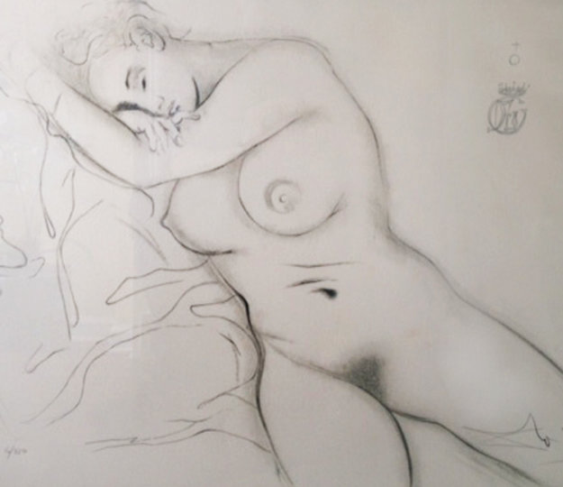 Nude Sleeping Woman 1970