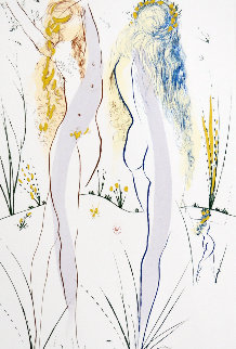 Song of Songs of Solomon Series: Return, Return, Shulamite  1972 Limited Edition Print - Salvador Dali