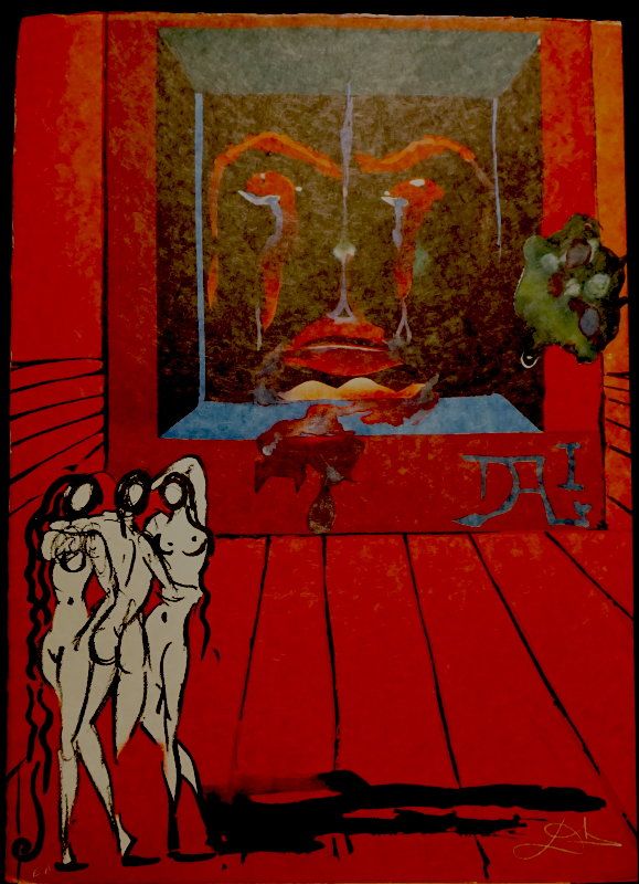 Visions Surrealiste Obsession of the Heart 1976