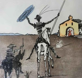 Impossible Dream 1980 Limited Edition Print - Salvador Dali