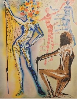Fashion Designer 1980 Limited Edition Print - Salvador Dali