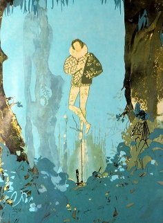 Trilogy of Love -  Prince of Love 1976 Limited Edition Print - Salvador Dali