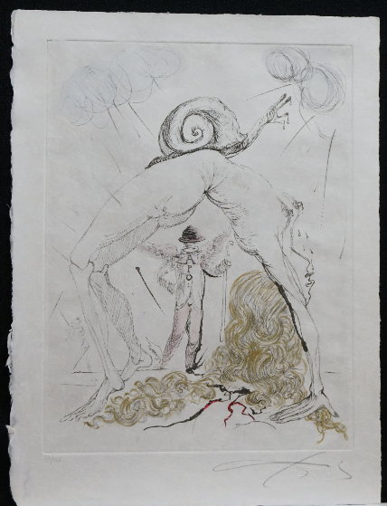 Poems Secrets Nude With Snail 1967 (Early)