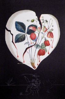 Fruits  Strawberries 1970 Limited Edition Print - Salvador Dali