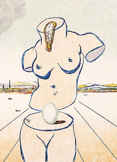 Birth of Venus (Torso) 1979 Limited Edition Print - Salvador Dali