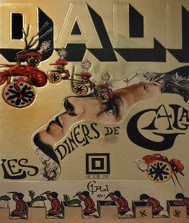 Les Diners De Gala (cookbook) 1973 First Edition Hand Signed Other - Salvador Dali