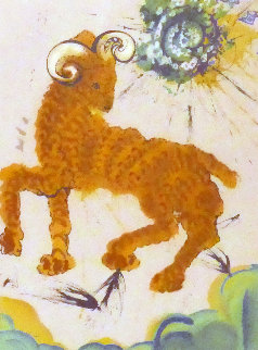 Symbol of the Zodiac: Aries Limited Edition Print - Salvador Dali