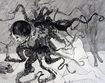 Mythology Suite: Medusa (la Meduse)  1963 (Early) Limited Edition Print - Salvador Dali