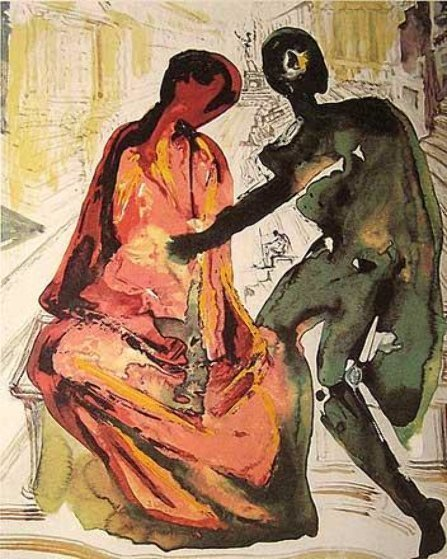 Les Amoureux Suite of 3 1979 w Portfolio Limited Edition Print by Salvador Dali