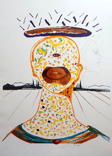 Imaginations & Objects of the Future: Cyclopean Make-up 1975 Limited Edition Print by Salvador Dali