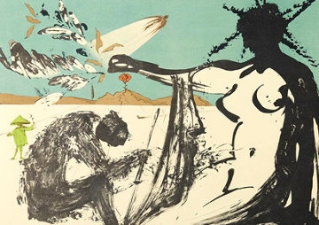 Liberation: Prisoners Are Free 1973 Limited Edition Print - Salvador Dali