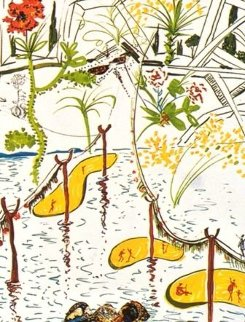 Imaginations & Objects of the Future: Biological Garden 1975 Limited Edition Print - Salvador Dali
