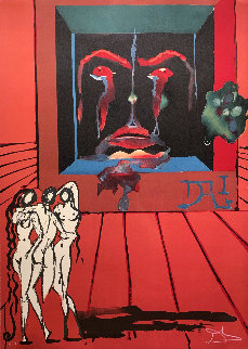 Obsession of the Heart: Visions Surrealiste Suite AP 1976 Limited Edition Print - Salvador Dali